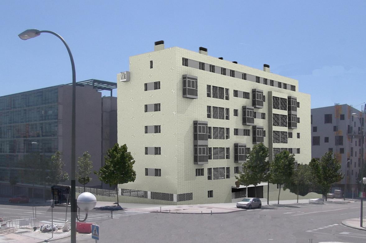 Anteproyecto de 31 viviendas y trasteros en Carabanchel