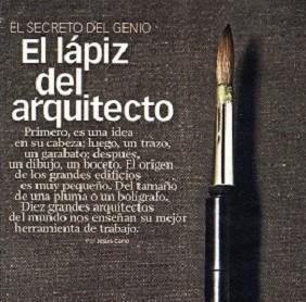 El Lapiz del Arquitecto