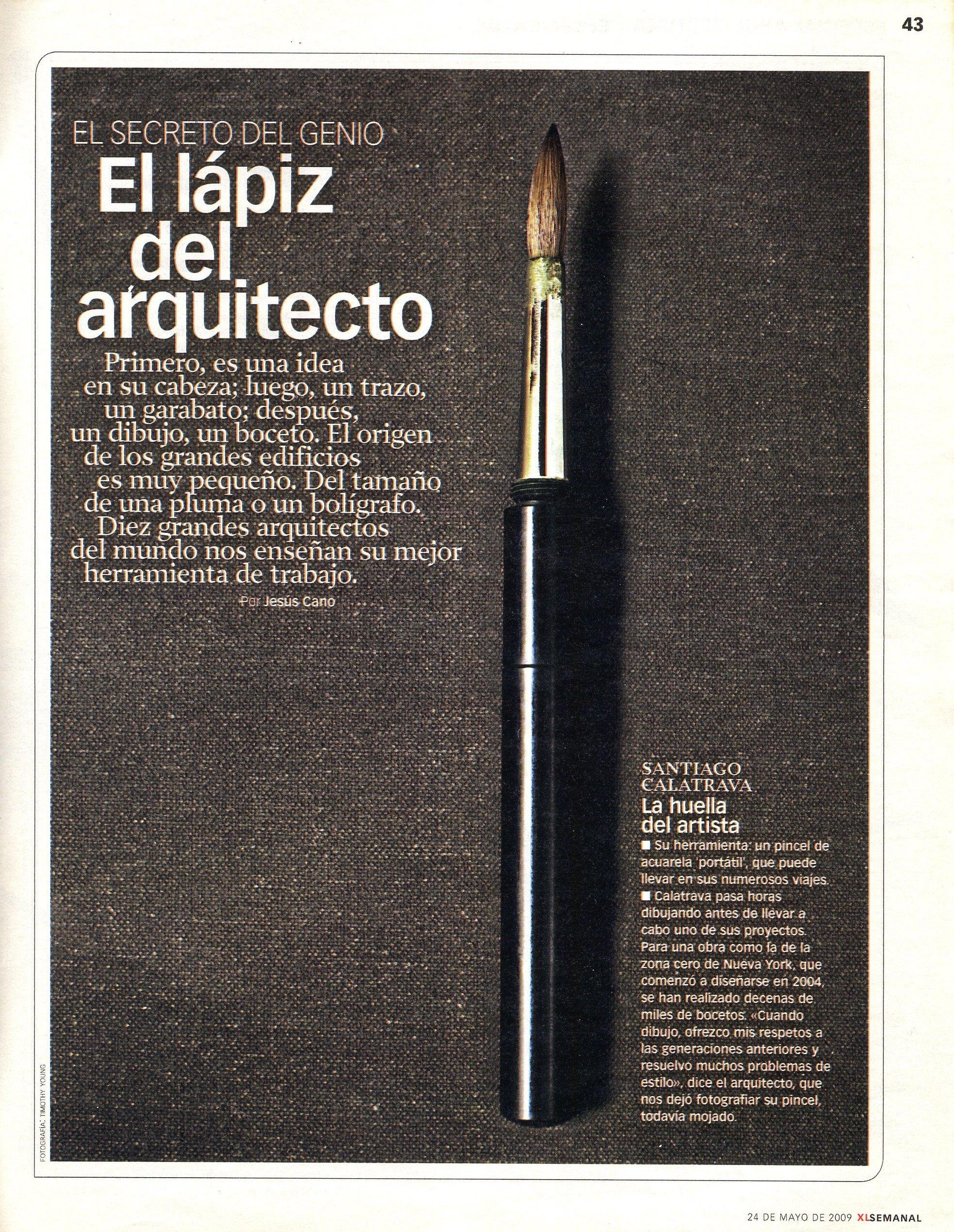 El Lapiz del Arquitecto 01