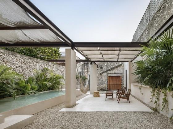 Pabellón Casa Mejorada / Arista Cero